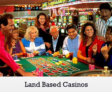 land based casino online